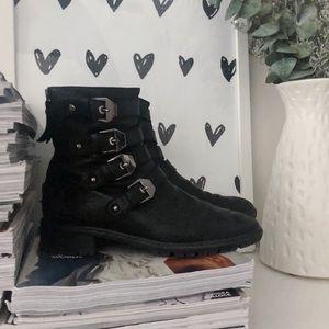 Stuart Weitzman Buckle Boots Size 7.5